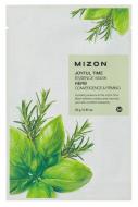 Тканевая маска с травяными экстрактами MIZON Joyful Time Essence Mask Herb: фото