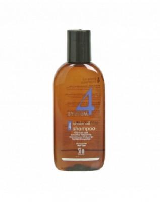 Шампунь терапевтический №4 для очень жирной, чувствительной и раздраженной кожи головы SIM SENSITIVE System4 100 мл: фото