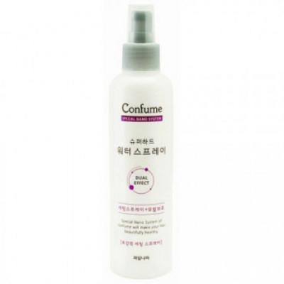 Спрей для волос фиксирующий увлажняющий Welcos Confume Super Hard Water Spray 252мл: фото