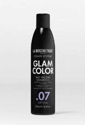 Шампунь против желтизны Glam Color No Yellow Shampoo .07 Crystal 250 мл: фото