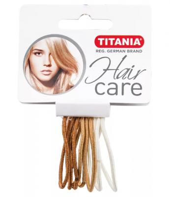 Резинки для волос Titania 4,5см 3 цвета 9шт: фото