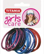 Резинки для волос Titania GIRL 4 см цветные 15 шт: фото