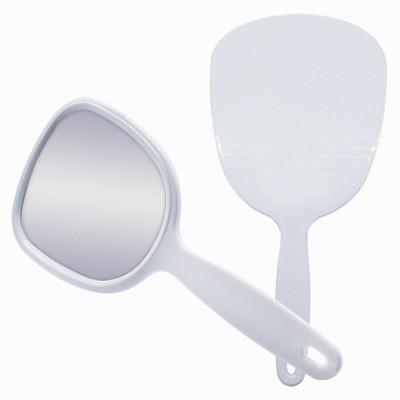 Зеркало с ручкой Titania 280*130 мм: фото