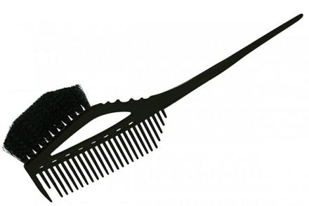 Кисточка для окрашивания с расчёской Y.S.Park YS-640 черная: фото