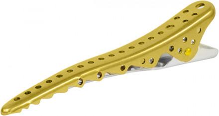 Зажимы для волос Y.S.PARK Shark Clip gold золотые 8шт: фото