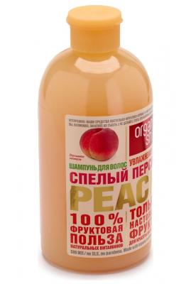 """Шампунь Organic Shop Фрукты """"Спелый персик"""" 500мл: фото"""