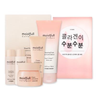 Набор антивозрастной для лица с коллагеном ETUDE HOUSE Moistfull Collagen Set (3ea): фото