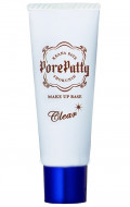 База под макияж выравнивающая Sana Pore putty make up base clear 25г: фото